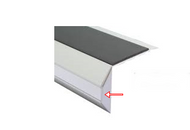 End Caps for LED Anti Slip Stair Nosing,(left & right)pack