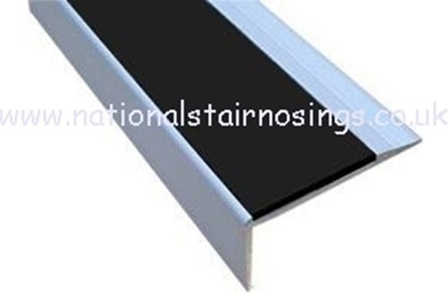 Anti Slip Aluminium Stair Nosing Step Edge Ramp Profile