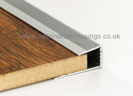 Push In Square Edge Trim For Laminate & Wood- 2.7m