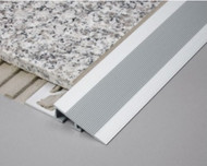 Aluminium Heavy Duty Ramp Transition Profile For Tile & Floor -2.5m