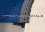 PVC-u Bendable Clip Top T- Profile - 2.5m