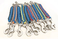 Colourful lanyard with snap hooks