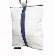 Dog Waste Bag Dispenser in Sailcloth Salty Dog Coast Guard