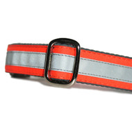 Reflective Dog Collar Hunter Orange