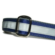 Reflective Dog Collar in Navy Blue
