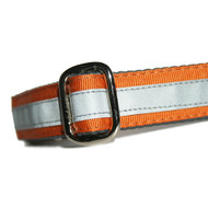 Reflective Dog Collar in Ginger