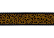 Leopard Print Dog Collar & Leash