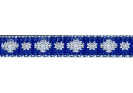 Snowflake Dog Collar and Leash