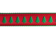 Christmas Tree Dog Collar and Leash