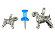 Wheaten Terrier Charm (Mini)