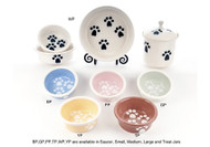Paw Print Cat Bowl