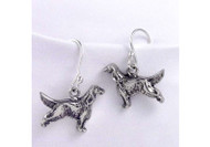 Sterling Silver Irish/English/Gordon Setter Earrings