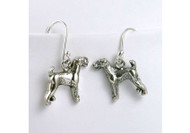 A1 Sterling Silver Dog Breed Earrings (All Breeds)