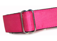 Martingale Collar Hot Pink Grosgrain Ribbon