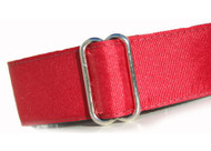 Martingale Dog Collar in Red Cherry Grosgrain Ribbon