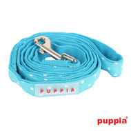 Puppia Dotty Lead Sky Blue