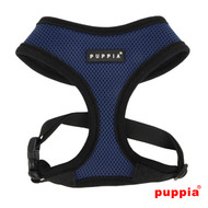 Puppia Soft Harness Royal Blue