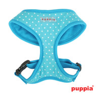 Puppia Dotty Harness Sky Blue
