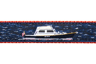 Power Boat Dog Collar and Leash 2