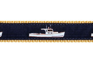 Lobster Boat Dog Collar and Leash