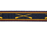 Crossed Oars Dog Collar and Leash