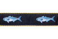 Bluefish Dog Collar and Leash