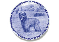 Pyrenean Shepherd Dog Blue Plate