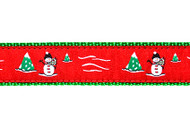 Snowman Dog Collar & Leash