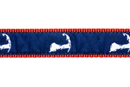 Cape Cod Dog Collar & Leash
