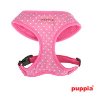 Puppia Dotty Harness A Pink