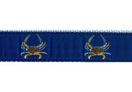 Maryland Blue Crab Dog Collar and Leash