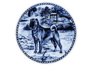 Sharpei Danish Blue Dog Plate (# 2)