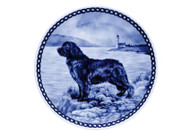 Newfoundland Danish Blue Dog Plate (# 2)
