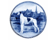 Greyhound Blue Plate (# 3)