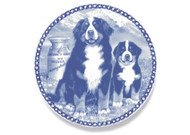 Bernese Mountain Dog Puppy Danish Blue Plate