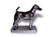 Smooth Fox Terrier Dog Hood Ornament