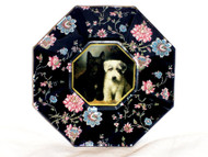 "Scottie & Sealyham 5"" Decoupage Plate"