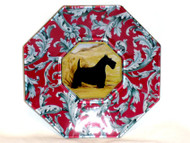 Scottie Decoupage Plate (# 3)
