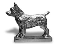 Norwich Terrier Hood Ornament