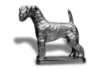 Kerry Blue Terrier Hood Ornament