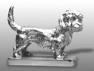 Dandie Dinmont Dog Hood Ornament