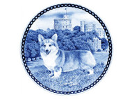 Corgi Pembroke Danish Blue Dog Plate