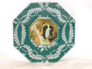 "Boxer 5"" Decoupage Dog Plate"