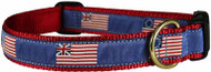 Historical American Flag Dog Collar
