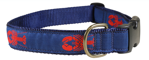 Maine Lobster Dog Collar and Leash