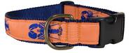 Lobster on Melon Dog Collar and Leash