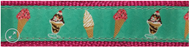 Ice Cream Dog Collar and Leash