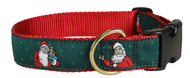 santa clause dog collar