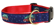 woodie and tree dog collar