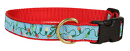 tangled christmas lights dog collar